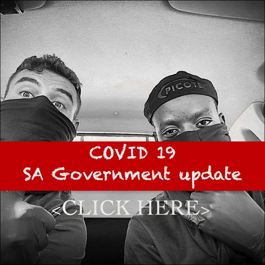 Corona Virus Covid 19 SA Update